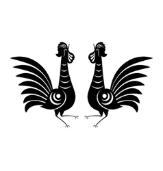 Rooster icon sign vector