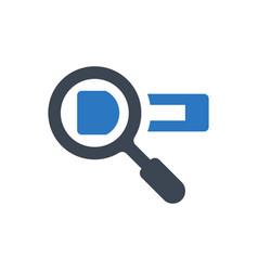 search web address icon vector image