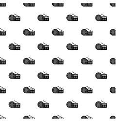Speaker radio pattern seamless vector
