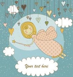 Sweet Fairy Card vector