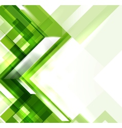 Green modern geometric absract background vector image