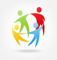 Team work icon vector