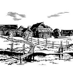 Village vector