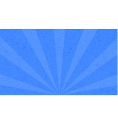 vintage blue background with sunbeams in broadway vector image vector image