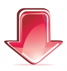 arrow icon vector image vector image