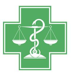 apothecaries symbol vector image