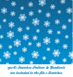 Christmas snow pattern vector
