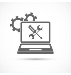 Computing Service Icon vector