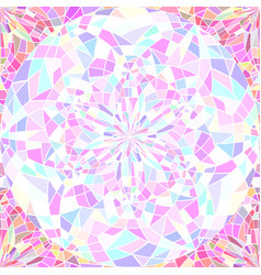 seamless pattern with stained glass broken glass vector image