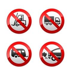 Set prohibited symbols - transport vector