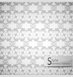 abstract seamless pattern mesh white texture vector image vector image