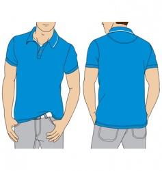 polo T-shirt vector image