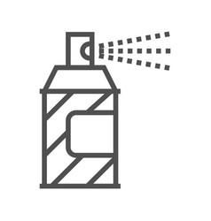 spray paint line icon vector image