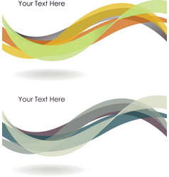 Abstract winding background vector image vector image