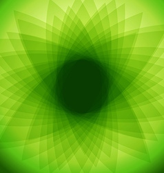 Green abstract background EPS 10 vector image vector image