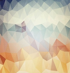 Colorful mosaic banners EPS 10 vector image vector image