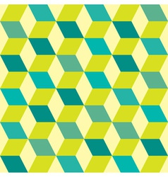 Seventies green seamless vector image