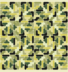 abstract military camouflage pattern backgr vector image