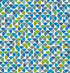 Abstract mosaic retro seamless pattern vector