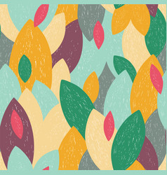 abstract pattern leaf vector image