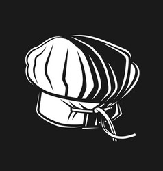 baker hat icon vector image