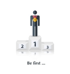 Be first vector