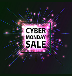 Cyber monday hot sale vector