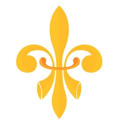 lyli heraldic emblem vector image