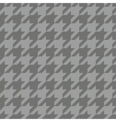 Tile tartan plaid grey houndstooth background vector