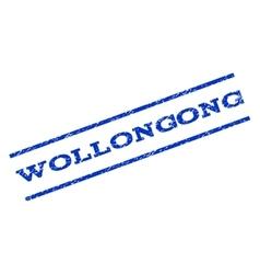Wollongong Watermark Stamp vector