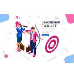 Job action people target vector