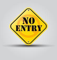 No entry vector