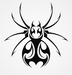Spiders Tattoo Design vector image