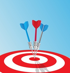 Target Success concept vector