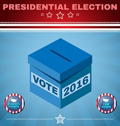 Usa Election 2016 Every Vote Counts vector