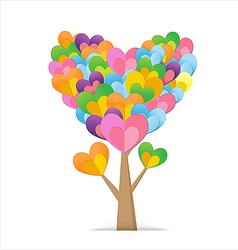Heart tree 03 380x400 vector