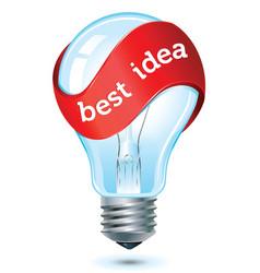 best idea icon vector image