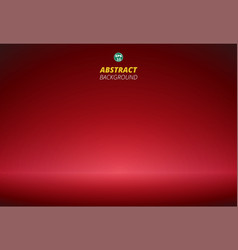 abstract of luxury red gradient with copy space vector image