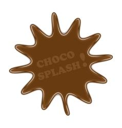 Choco splash vector