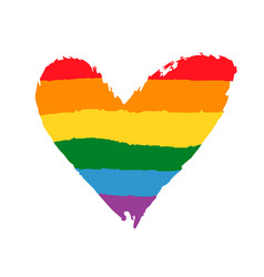 gay lesbian community pride poster lgbt concept vector image