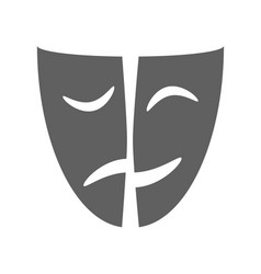 mask symbol vector image