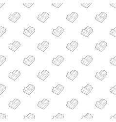 Mousetrap icon outline style vector