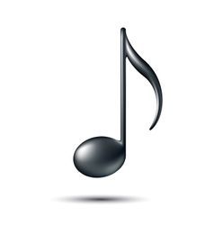Music Note Sign vector image vector image