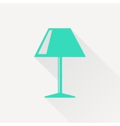 Reading-lamp icon vector