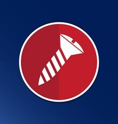 screw Icon button logo symbol concept vector image vector image