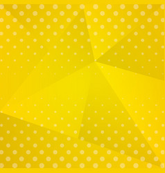 yellow background dotted vector image