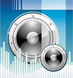 disco music background vector image vector image