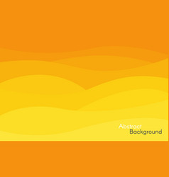 abstract yellow and orange background bright vector image