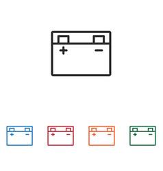 Accumulator icon vector