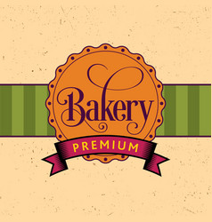 Bakery design poster vector